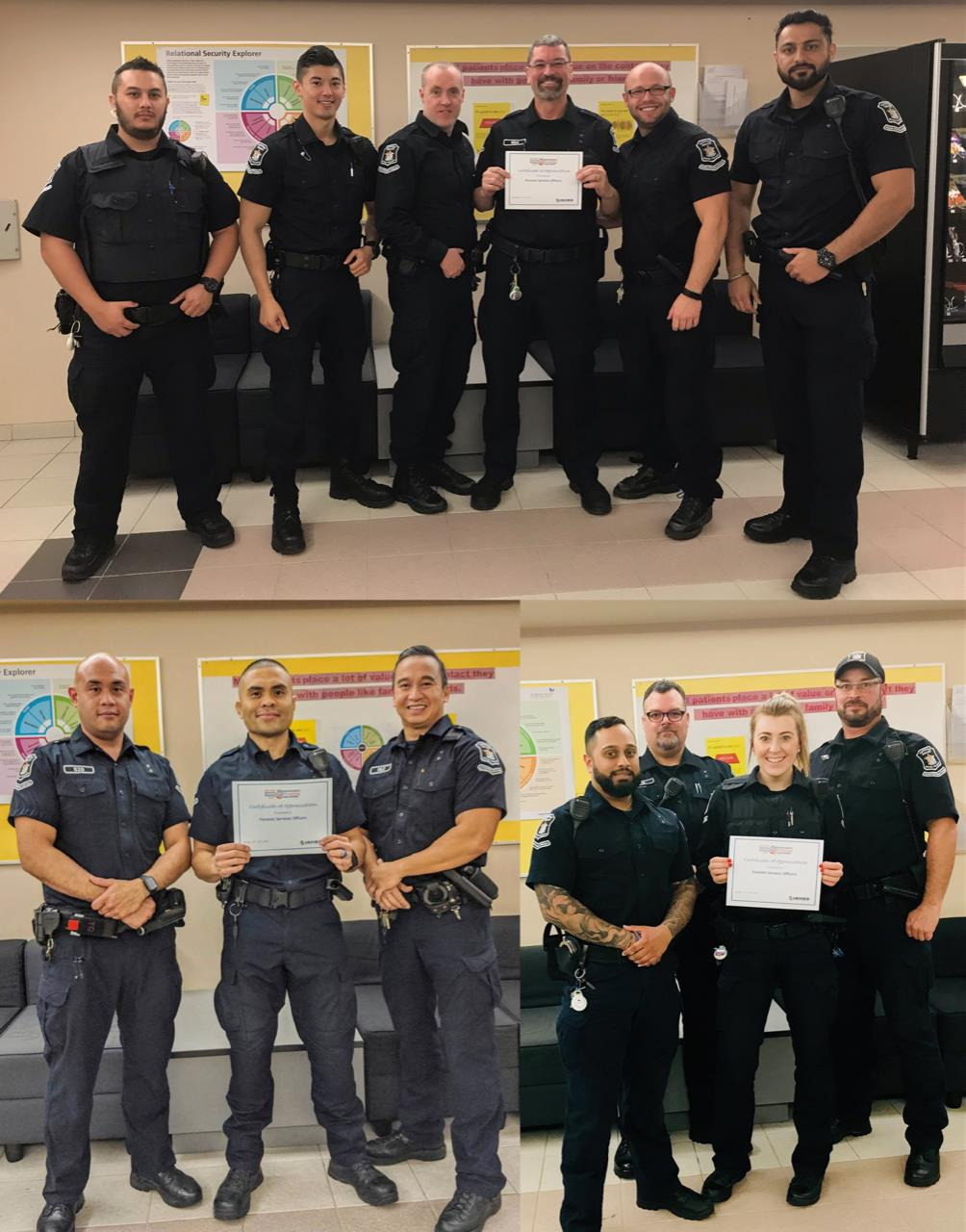 Healthcare Security And Safety Week Recognizes Officers Passion Patience And Professionalism